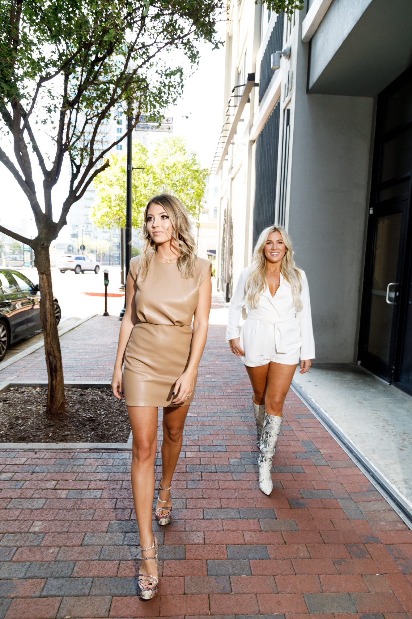 Patrick Heagney photographs the fifty most beautiful Atlantans strutting down the street for Jezebel Magazines yearly feature at Atlantic Station